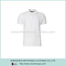 Short Sleeve White Men Cotton PK Polo Shirt