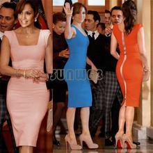Evening dress wholesale Women's Celeb Vintage Party/OL Evening Tunic Sheath Bodycon Pencil Dress 4 Colors 19378