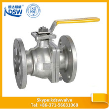 China made in china flange type stainless steel ball valve