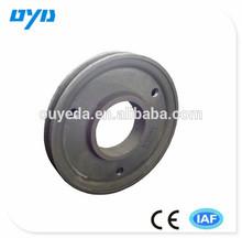 ISO customized ductile iron casting cast iron belt pulley