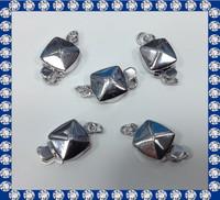 square sterling silver bra clasp