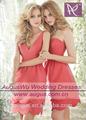 Simples, fora do ombro curto sexy pink prom vestidos vestidos vestido de de baile 2014