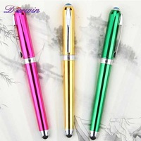 High quality and China pen factory multicolor stylus touch pen for promotion