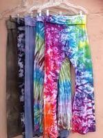 Wholesales Plus size Rayon Tie Dye Trouser Pantalon pants Hindu Ropa Vetement harem pants