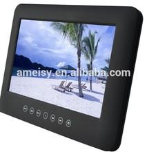 HD car headrest dvd monitor with AV Audio HDMI input