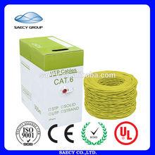 Outdoor 1000ft/305m Waterproof Burial UTP Cat6 Cable