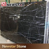 Chinese natural stone black marquina cheap marble