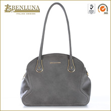 benluna #2281,Simple atmospheric leather handbag woman patent leather bags shopping trolley