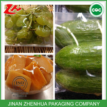 clear food grade stretch thick plastic roll transparent