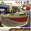 2014 Newly supply customized fresh juice bar, juice bar kiosk for sale