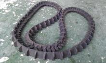 mini excavator rubber tracks hagglund bv206 rubber running track surface
