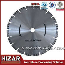 Quick cut saw blades for granite