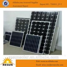 Small poly-crystalline 20w solar panel price