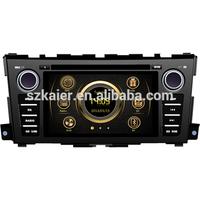 New version shock price car MP4 player for Nissan Teana with GPS/Bluetooth/Radio/SWC/Virtual 6CD/3G /ATV/iPod