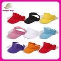 moda sportswear ourdoors atacado alta qualidade sol viseira chapéu de golfe com velcro ajustável