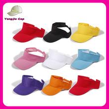 Fashion Ourdoors Sportswear wholesale high quality sun Visor Golf Hat with Velcro adjustable
