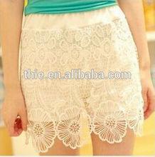 2014 summer fashion ladies lace shorts