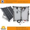 New portable folding solar panel mono 100w for dc12v solar system