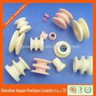 Industrial textile ceramic parts,Ceramic textile part,Textile ceramic guide roller