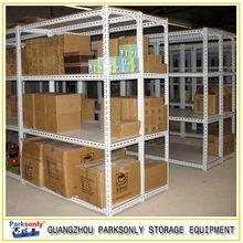 diaplay shelf equipment of slotted angle iron racks