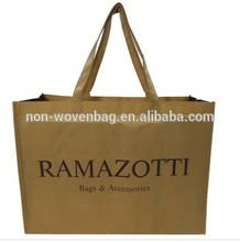 Alibaba Factory Sale Big Shopping Bag Non Woven Woman Handbag Elegant Design Hot Selling