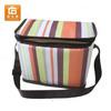 promotinal stripe 600D polyester beer can cooler bag