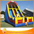 crianças baratos exterior piscina inflável com slide fabricante profissional para o atacado de