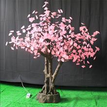 artificial LED Bonsai TREE led light hawaiian leis & flowers