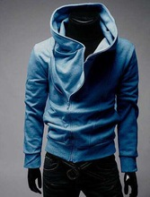 2014 Hot sell plain dyed terry fleece cotton Unisex hoody