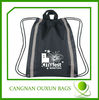 Factory direct sale baseball drawstring bags
