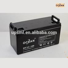 MSDS 12v 100ah ups battery
