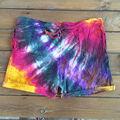 tie dye shorts homens e women2013 new soft sarja poli sublimada shorts da placa personalizada