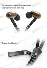 creative product 1 usd gift Christmas style earphone for car manufacturer promotional