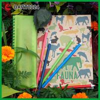 School Pencil Case Notebook Cute Stationery Set