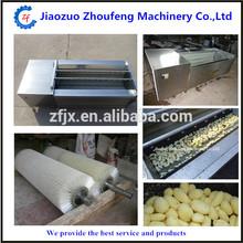 ZF Brand brush type sweet potato washing and peeling machine stainless steel patato washing and peeling machine