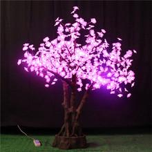 Shengjia QTY Of LEDs 600PCS LED Bonsai TREE decorative artificial flower butterfly