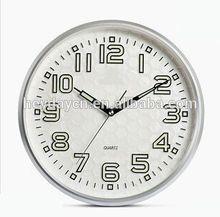 modern design round 3d wall clock