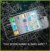 WHOLESALE tempered glass screen protector for iPhone 5/5S/5C