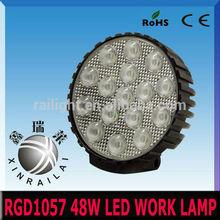 4wd driving spot light 4x4 RGD1057 Epistar 48w 9v-32v led work lights for truck , led car light