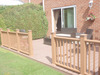 Waterproof wood plastic composite products, crack-resistant wpc decking, exterior floor covering, patio floor boards