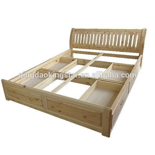 A buon mercato in legno massello letto matrimoniale con cassetti ks db07 letto id prodotto - Letto matrimoniale con cassetti ...