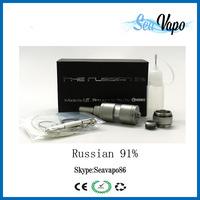 China Alibaba Russia DIY Atomizer Russian 91 Vaporizer russian 91% atomizer kayfun clone
