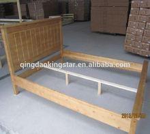 durable wooden double futon bunk bed KS-DB06