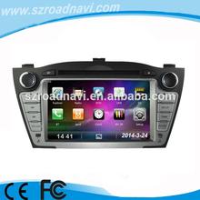 car radio dvd player for Hyundai ix35 tucson with 6 CDC virtual