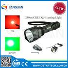 WF-C8Q5 240lumen rechargeable hunting flashlight beam light hunters (CE&RoHS)