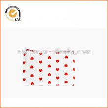 Little Hearts Zipper Pouch Camera Bag / Small Zippered Bag By Chiqun Dongguan CQ-H03001