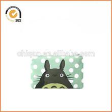 Totoro Zipper Pouch / Camera Bag in Miyazaki's My Neighbor Totoro Mint Polka Dots By Chiqun Dongguan CQ-H03017