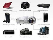 2014 New Cheapest Portable Proyector Mini LED Digital Video game Projector / AV / VGA / HDMI