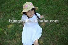 children's straw hat beach hat