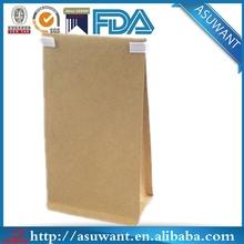 FDA certificated new tin tie tea bags paper packaging